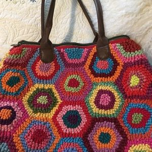 Colorful made by hand handbag